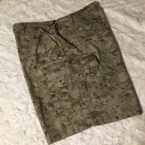 Men's TruSpec camo shorts
